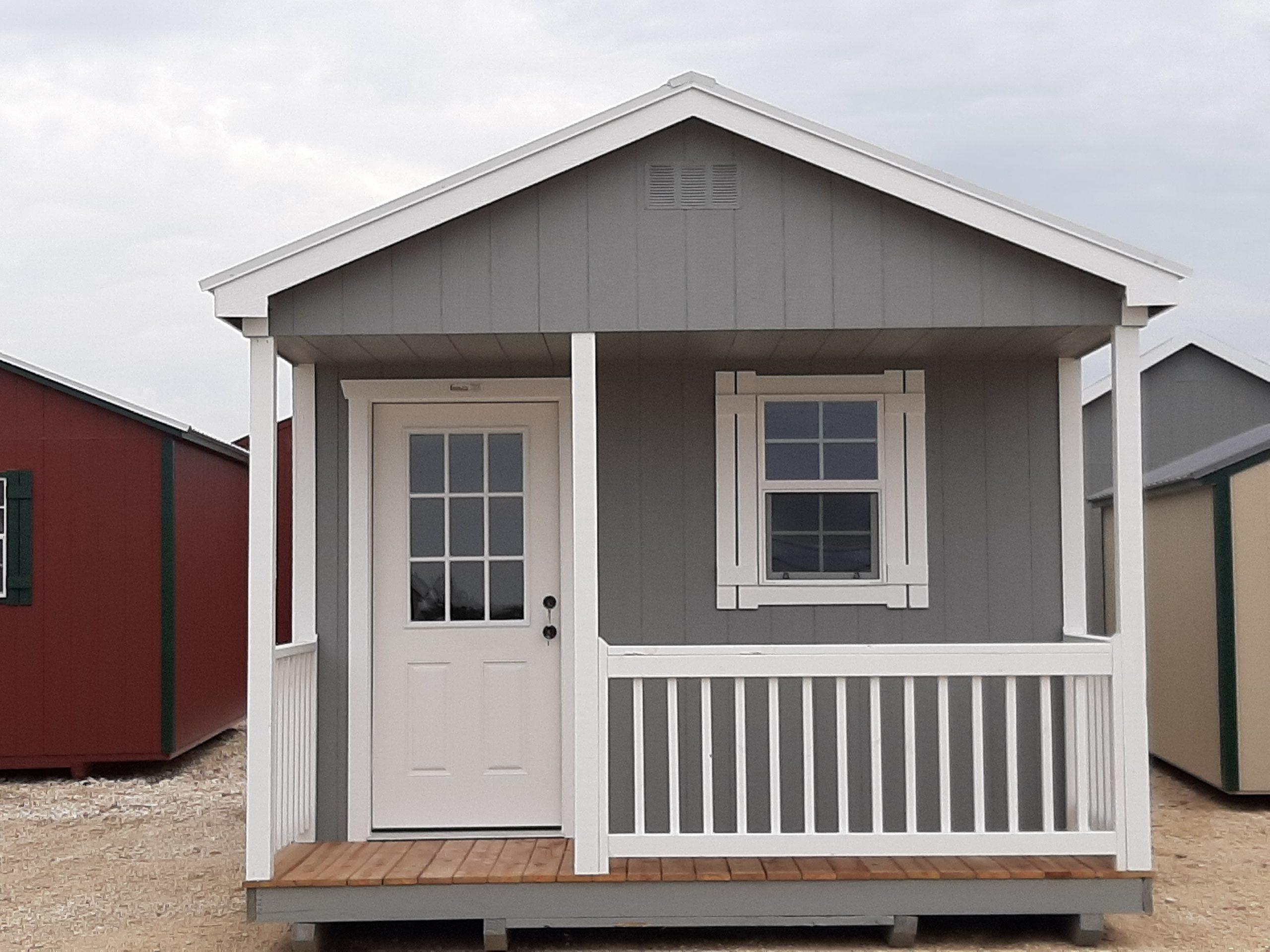 12x20 Cabin w/ Porch Image