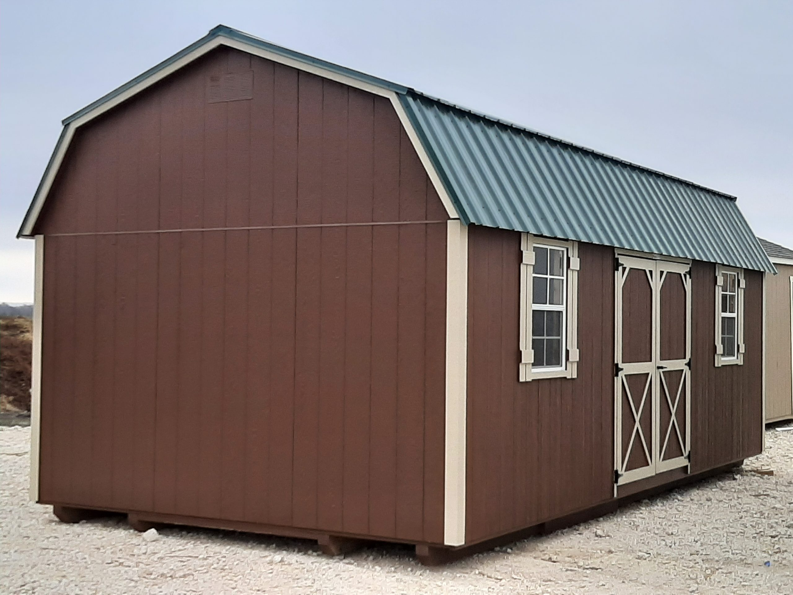 12x24 Elite Lofted Barn Image