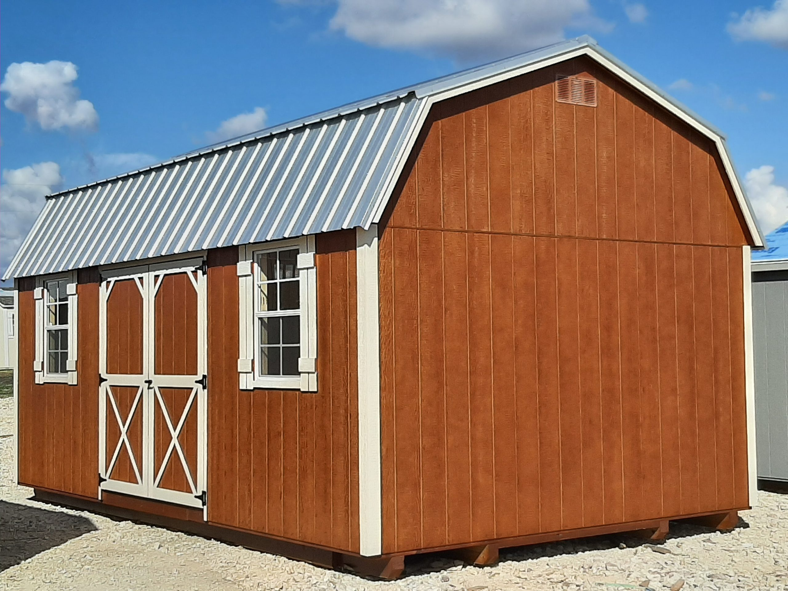 12x20 Elite Lofted Barn Image