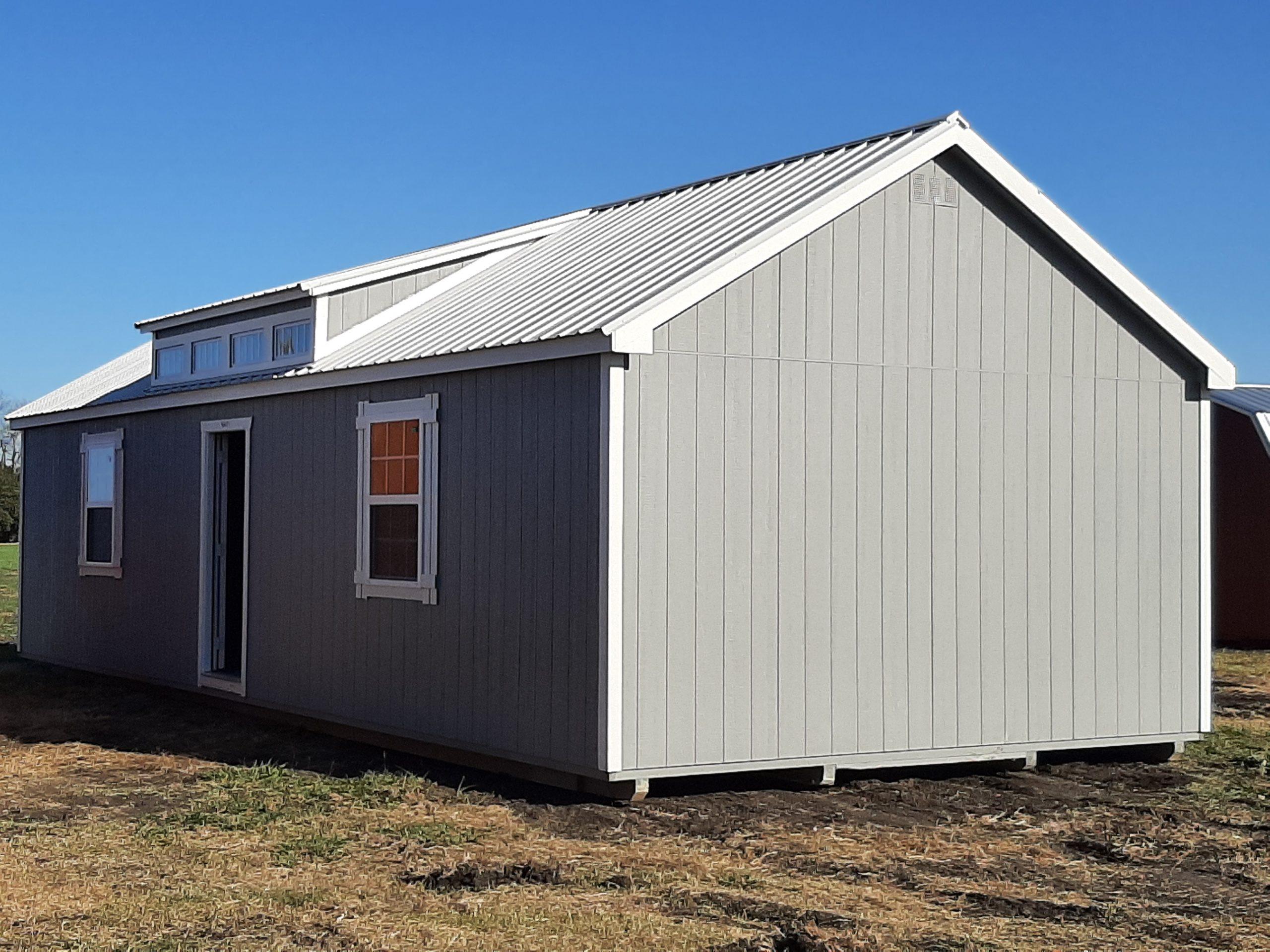 16x40 Dormer Cabin Image