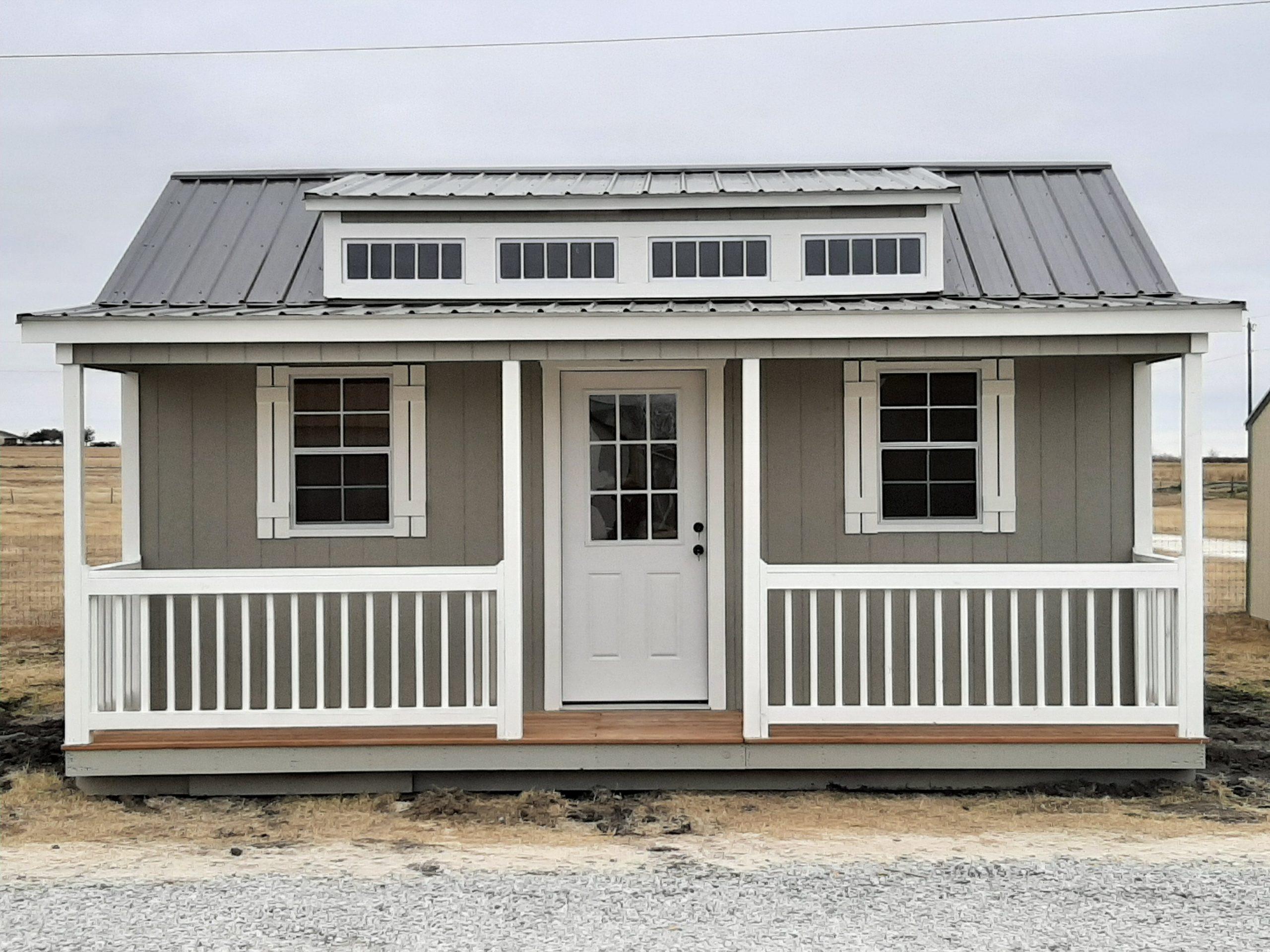 16x20 Dormer Cabin w/Porch Image