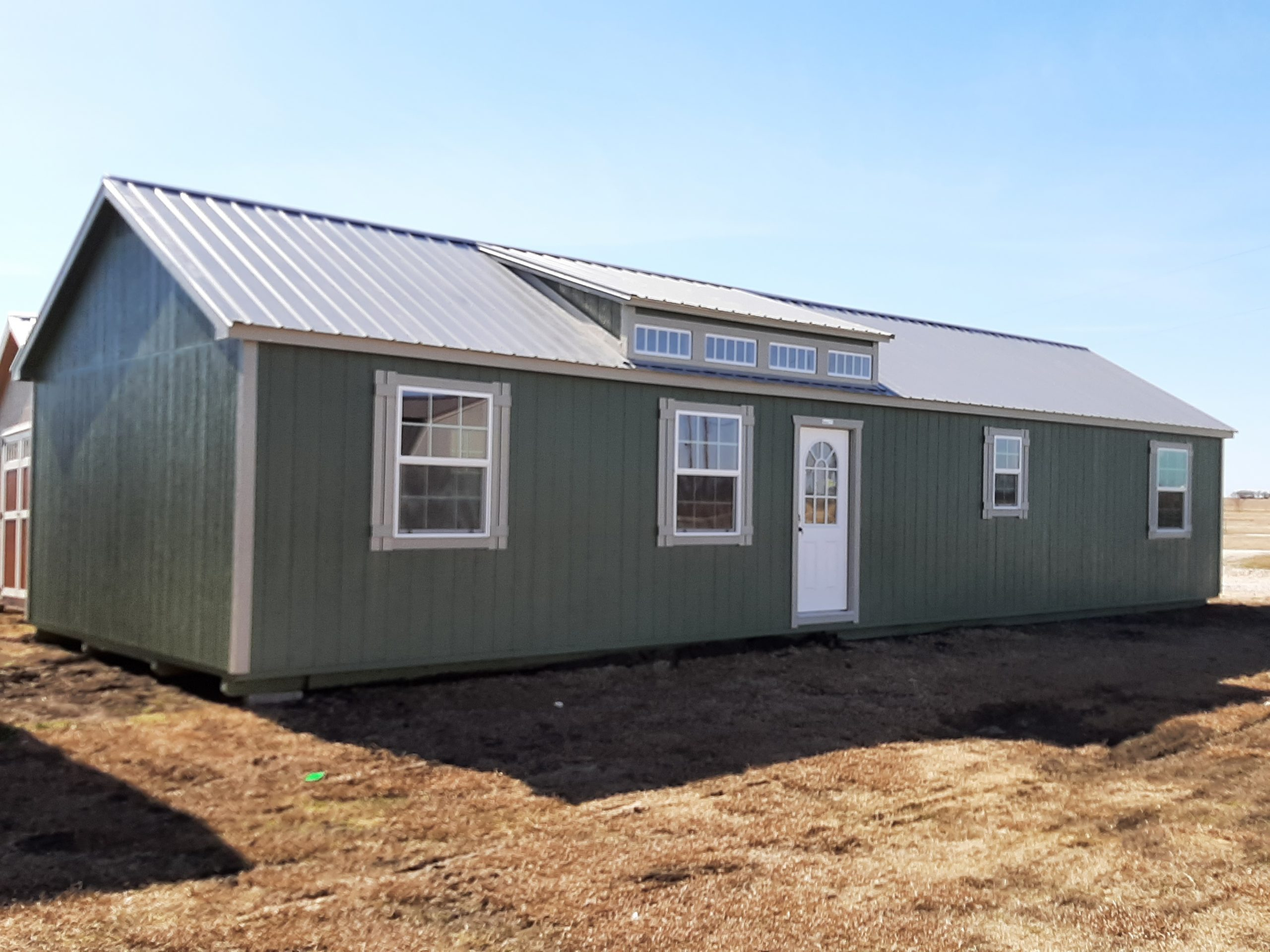 16x52 Dormer Cabin #1786 Image
