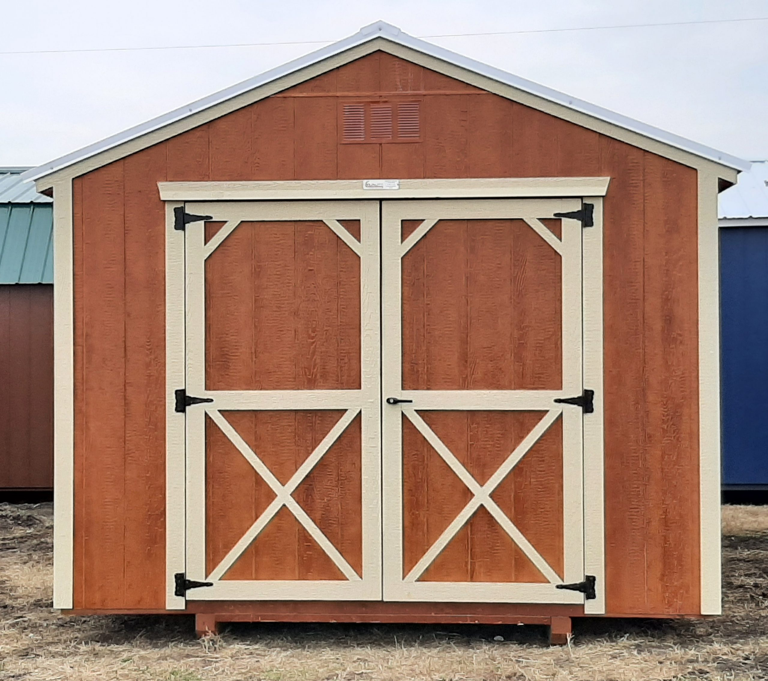 10x16 Utility Shed w/Electrical Package Image