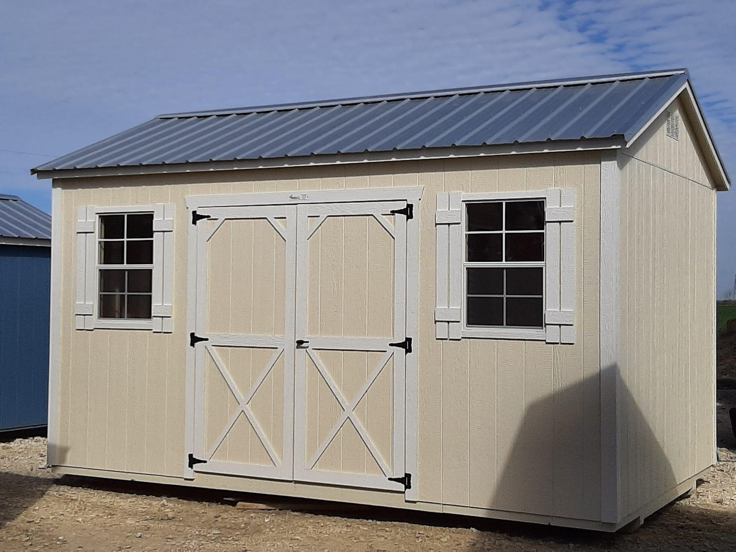 10x16 Elite Garden Shed Image