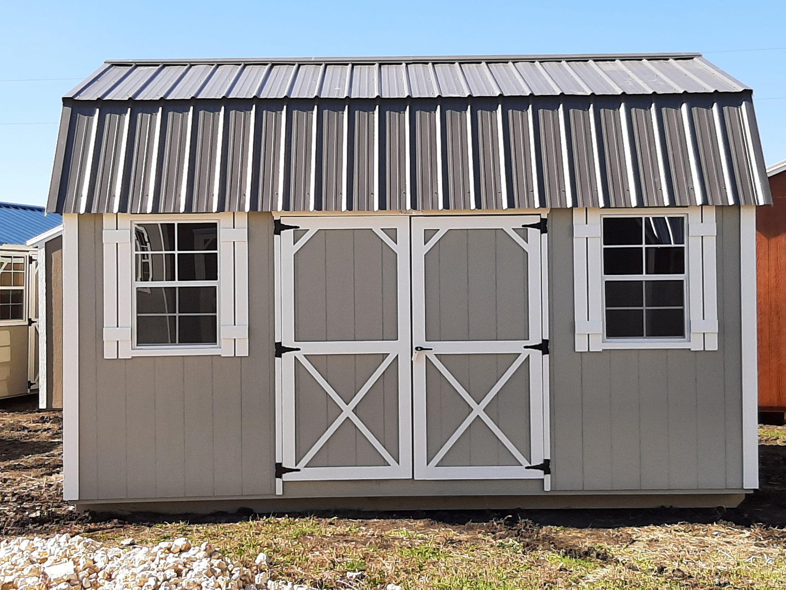 12x16 Elite Lofted Barn Image