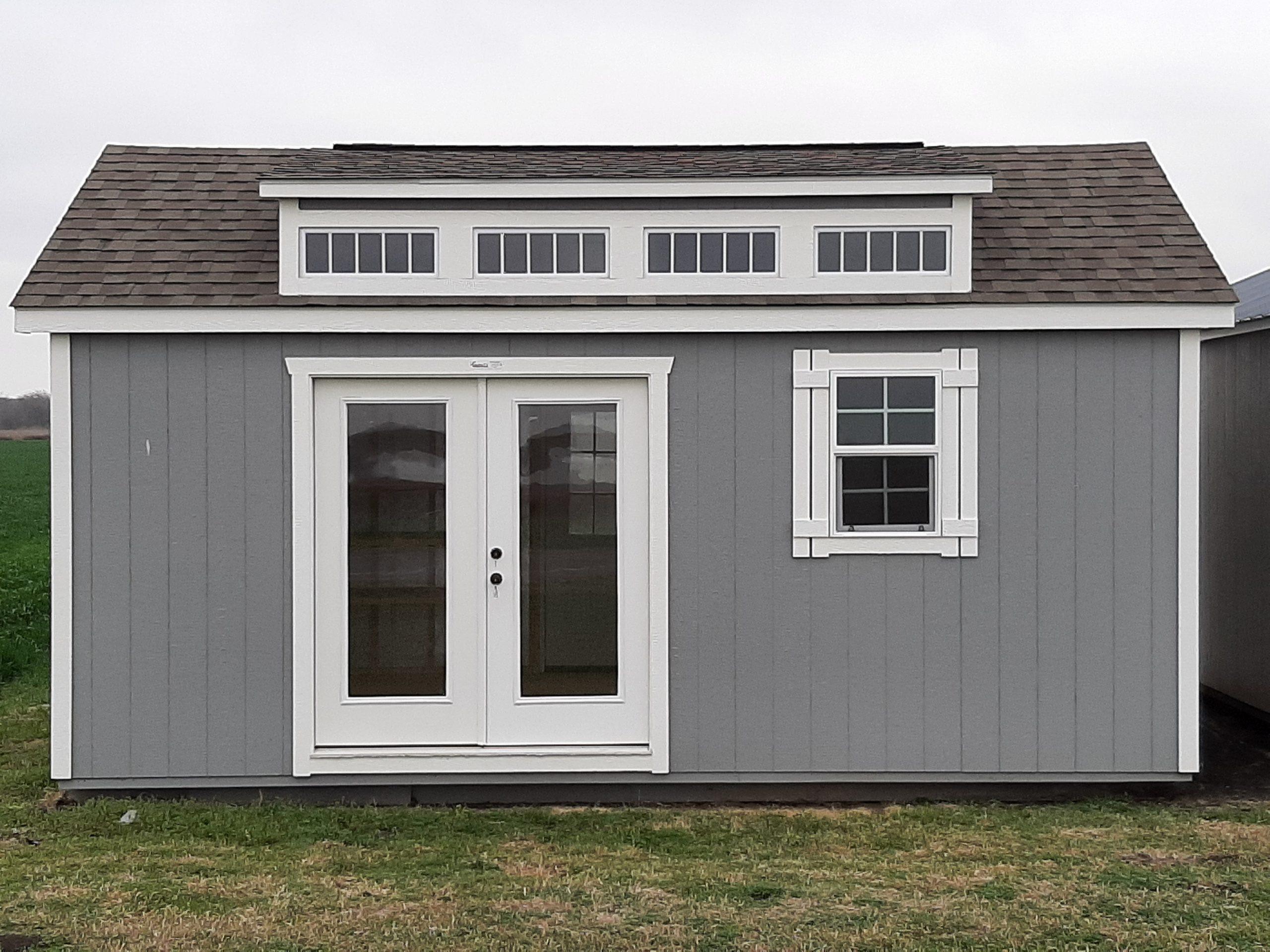 12x20 Dormer Cabin #1745 Image