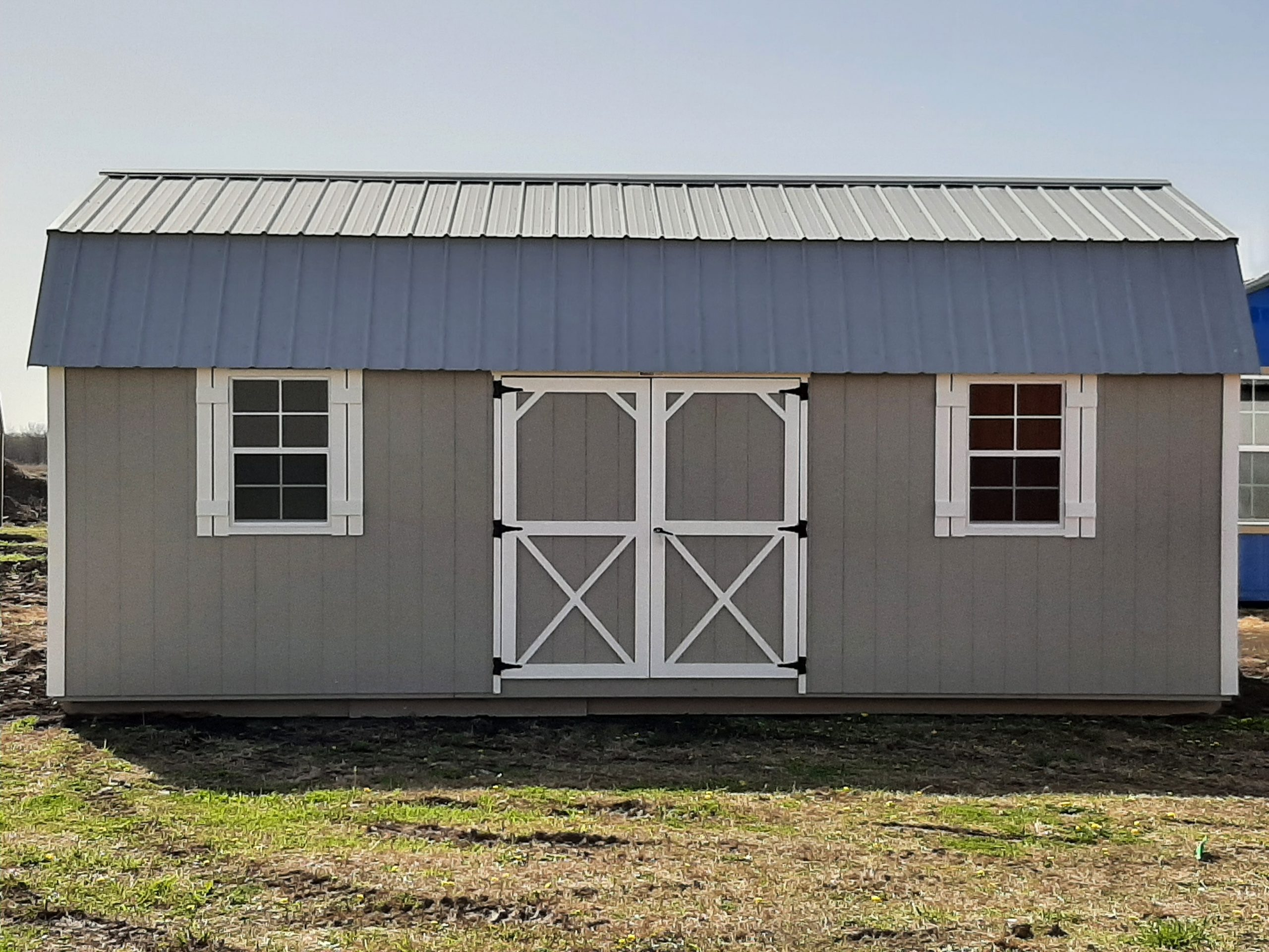 12x24 Elite Lofted Barn #1896 Image