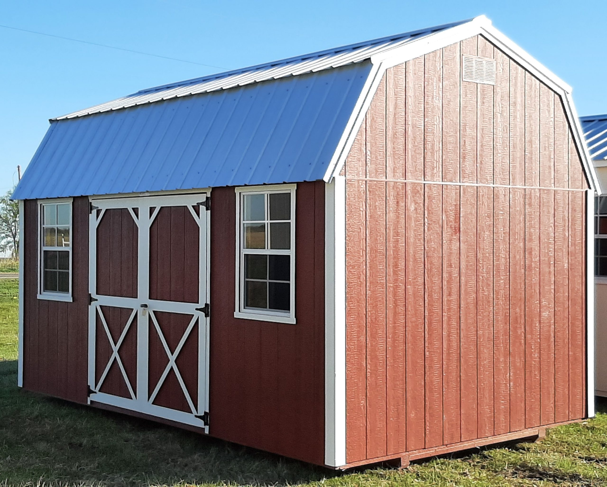 10x16 Lofted Barn #1913 Image