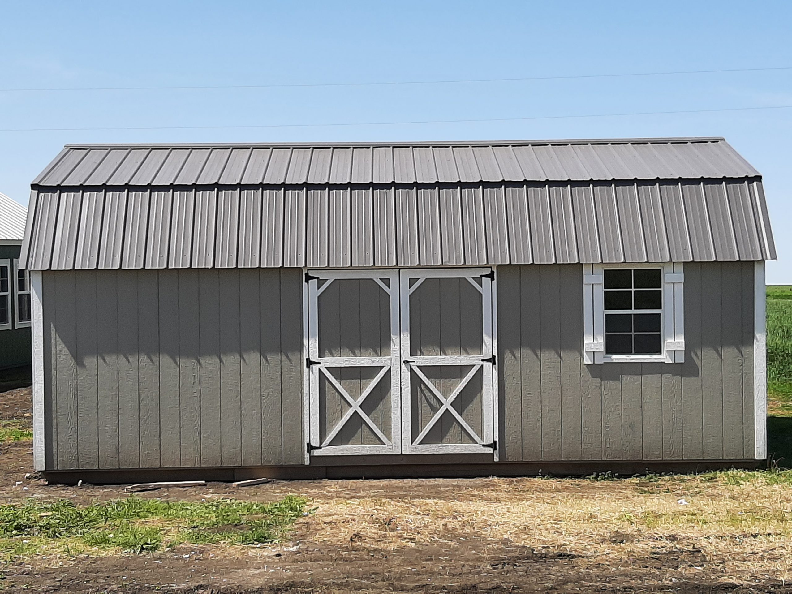 12x24 Elite Lofted Barn #28DSGC Image