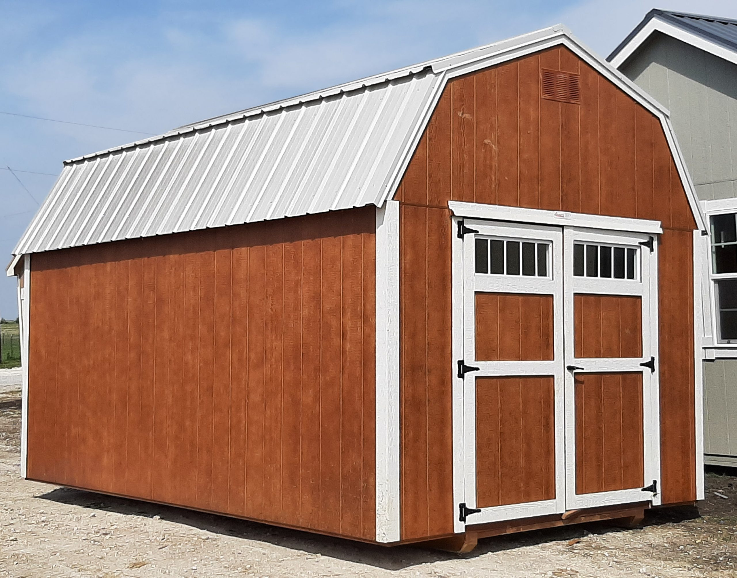 10x16 Lofted Barn #1102 Image