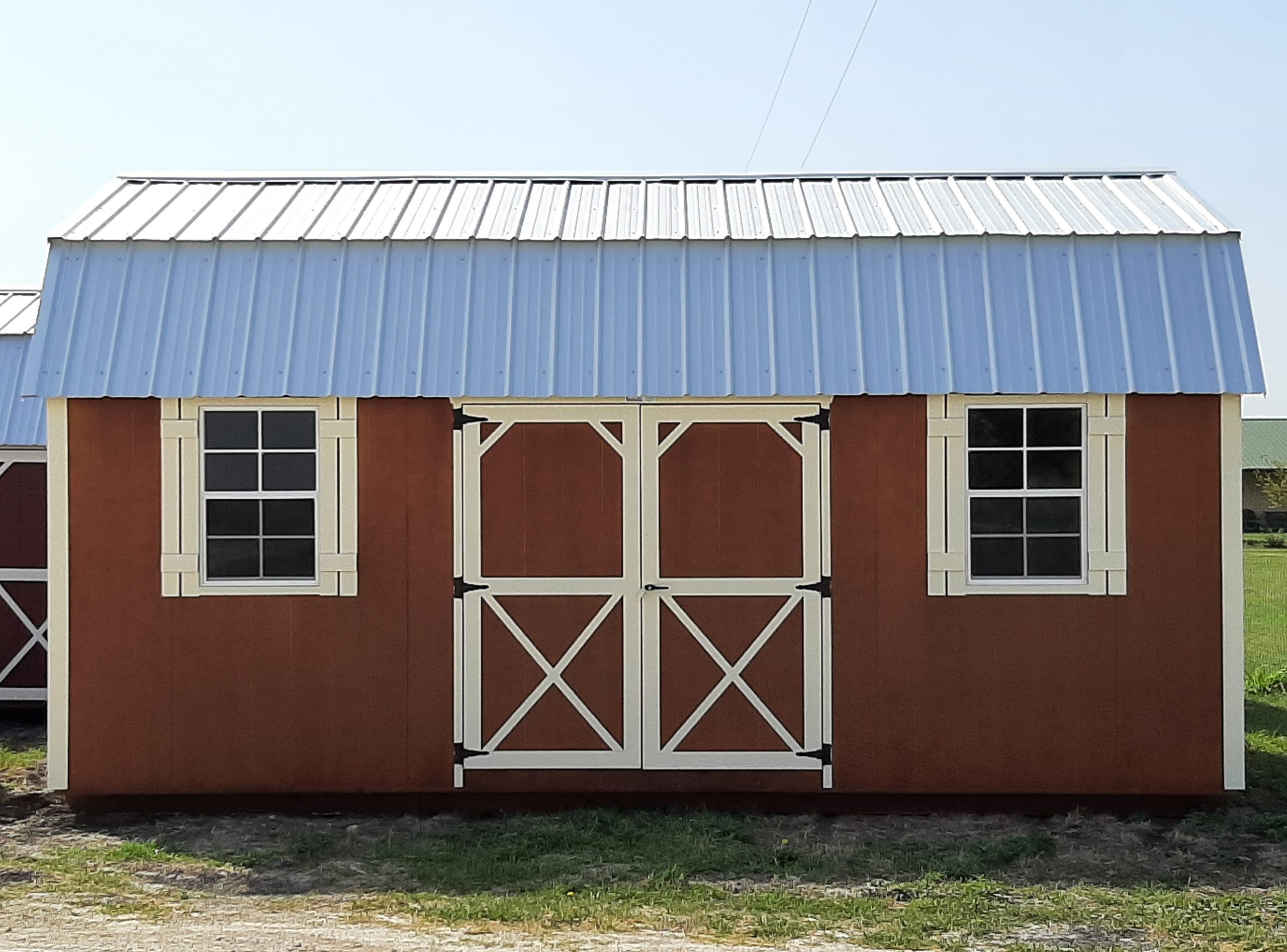 12x20 Elite Lofted Barn #1871 Image