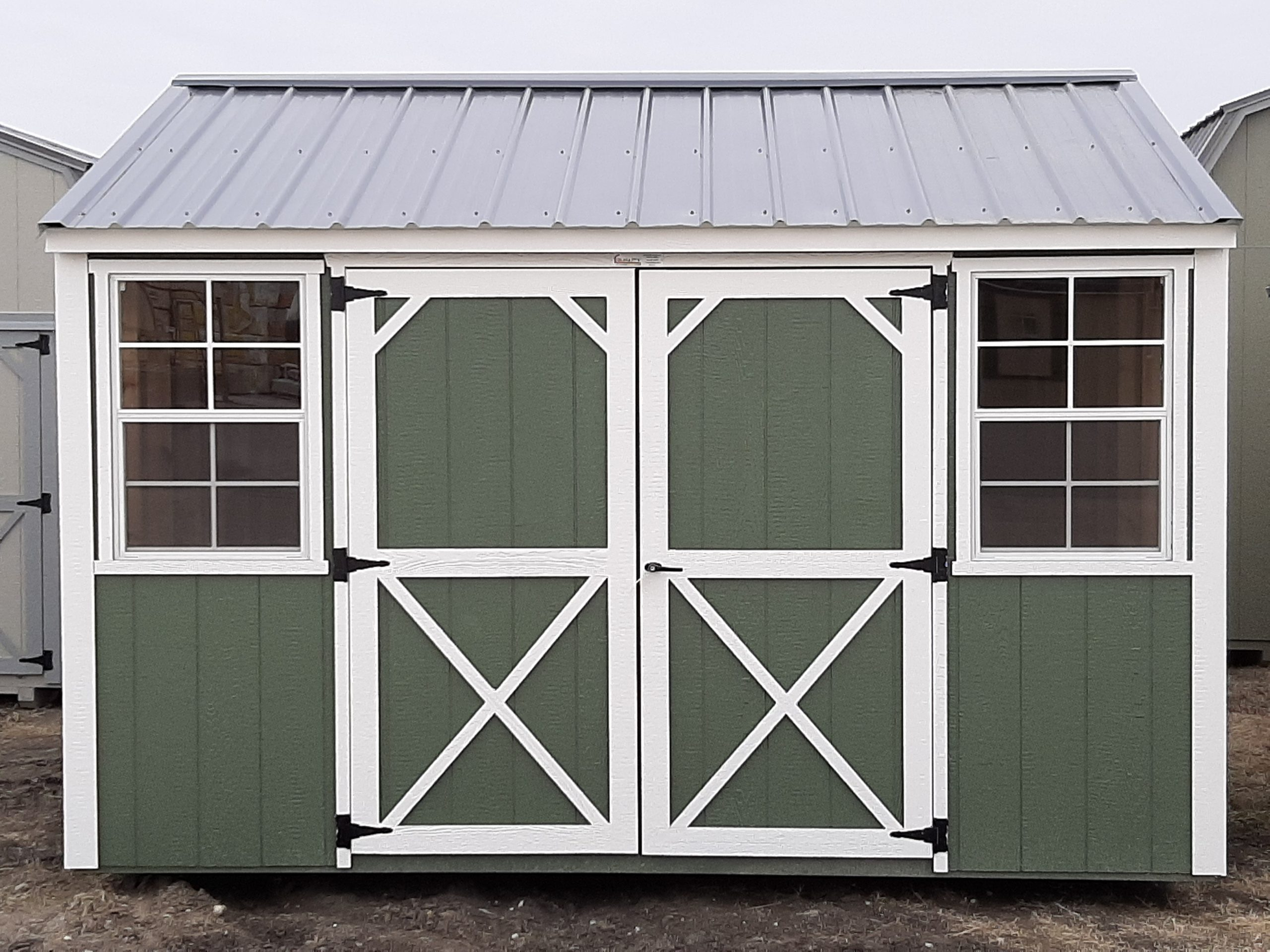 10x12 Garden Shed #2021 Image
