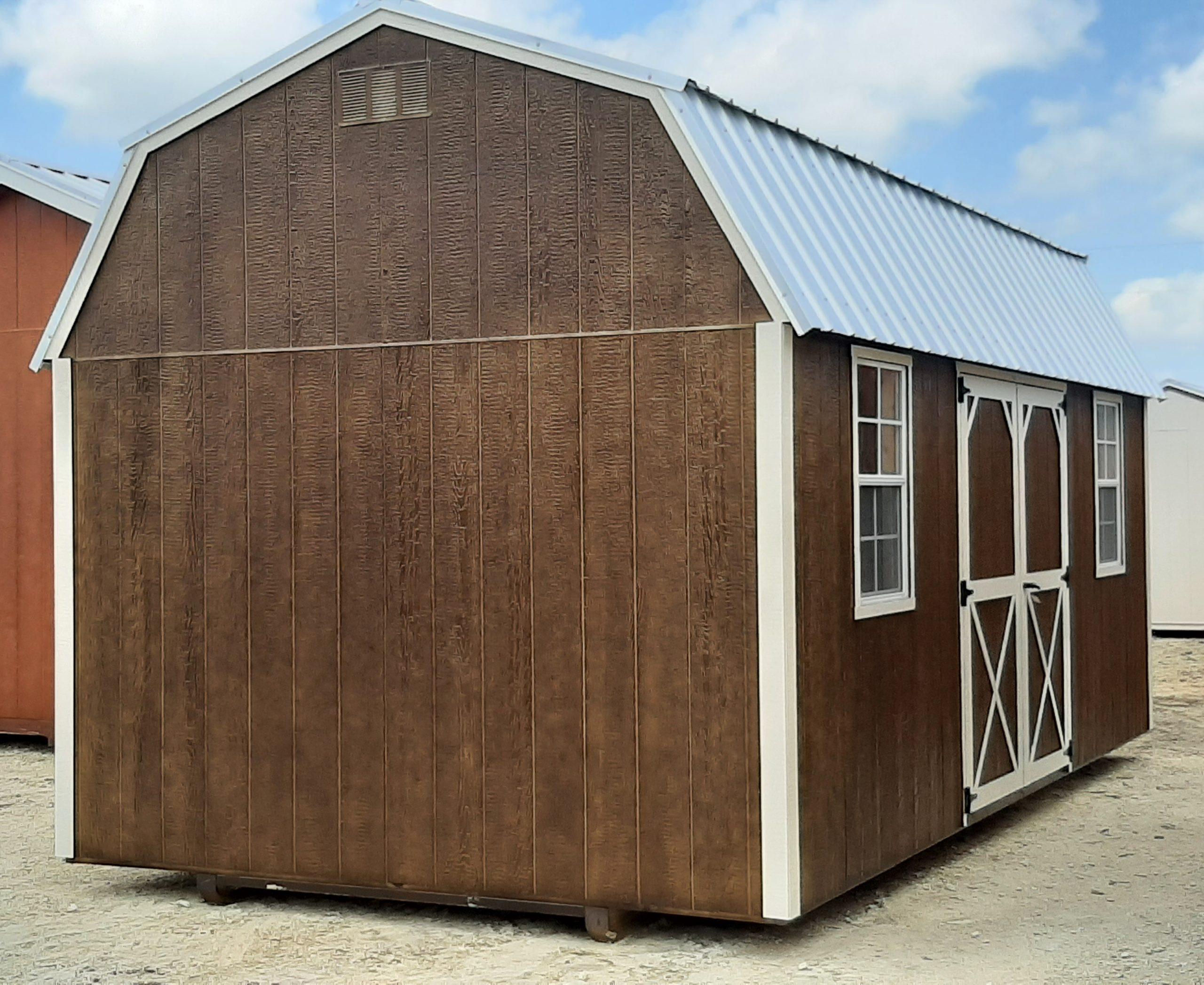 10x20 Lofted Barn #1976 Image
