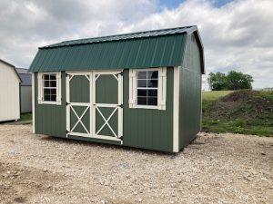 10x16 Elite Lofted Barn #2056 Image