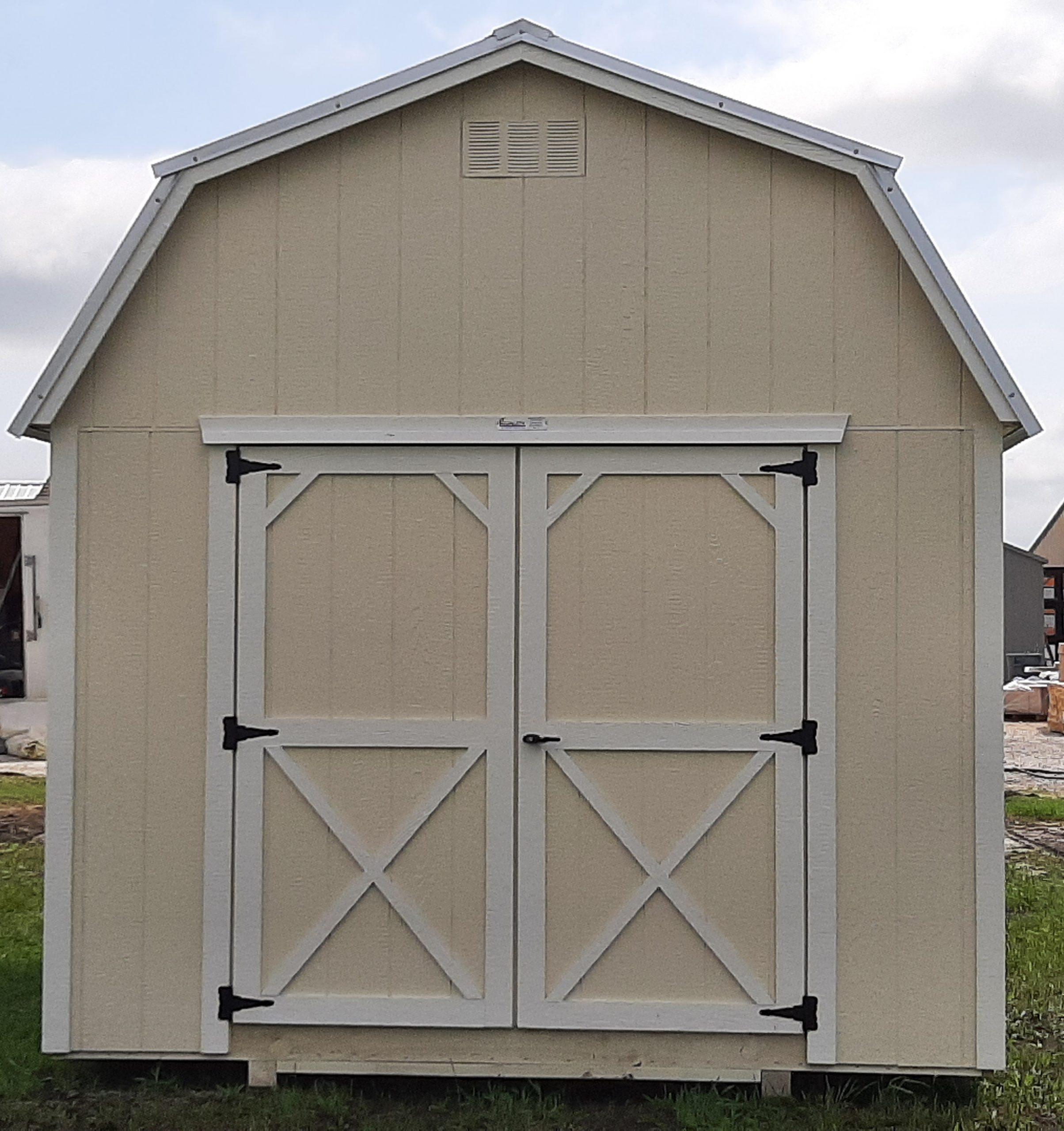 10x12 Elite Lofted Barn #1977 Image