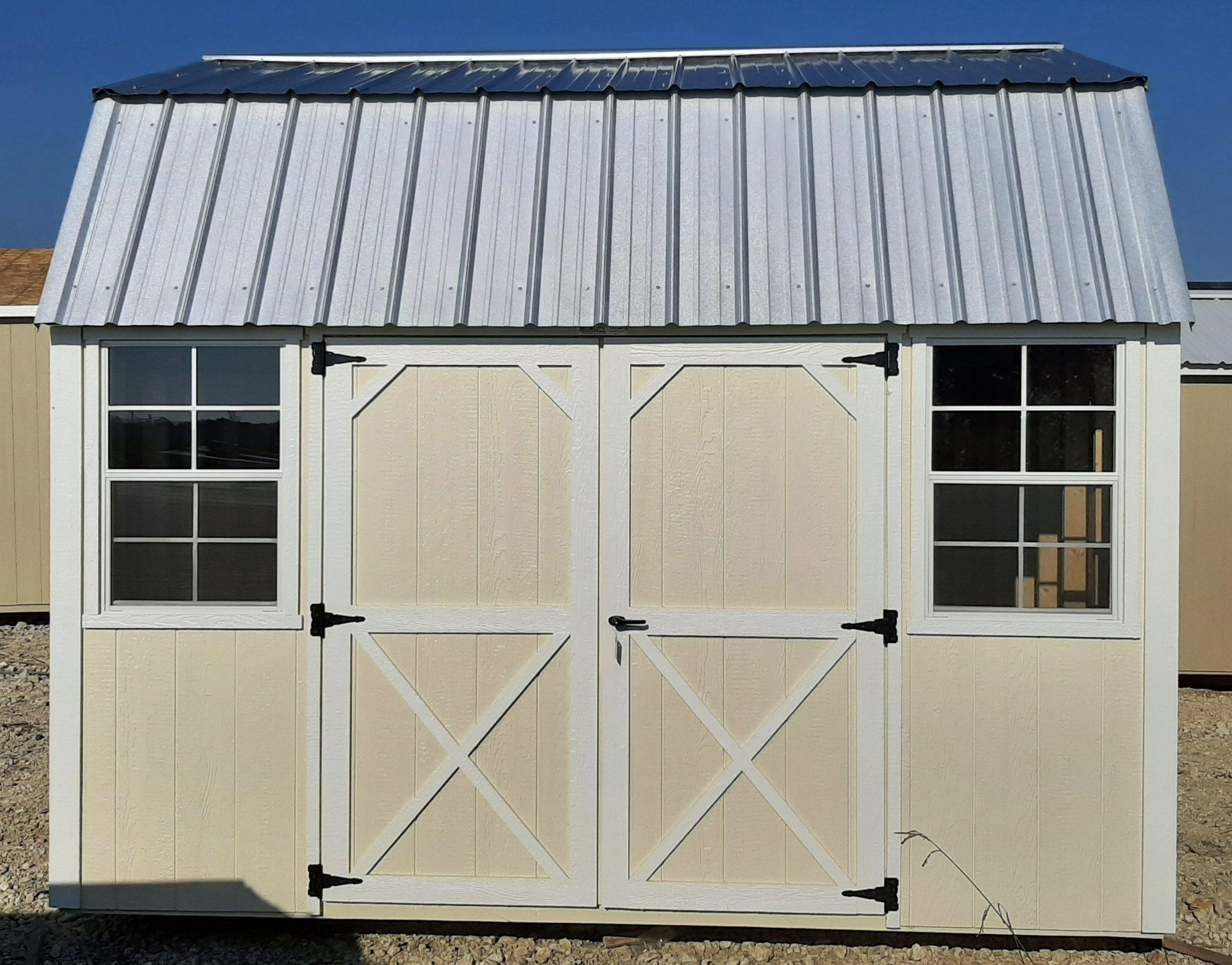 10x12 Lofted Barn #2165 Image