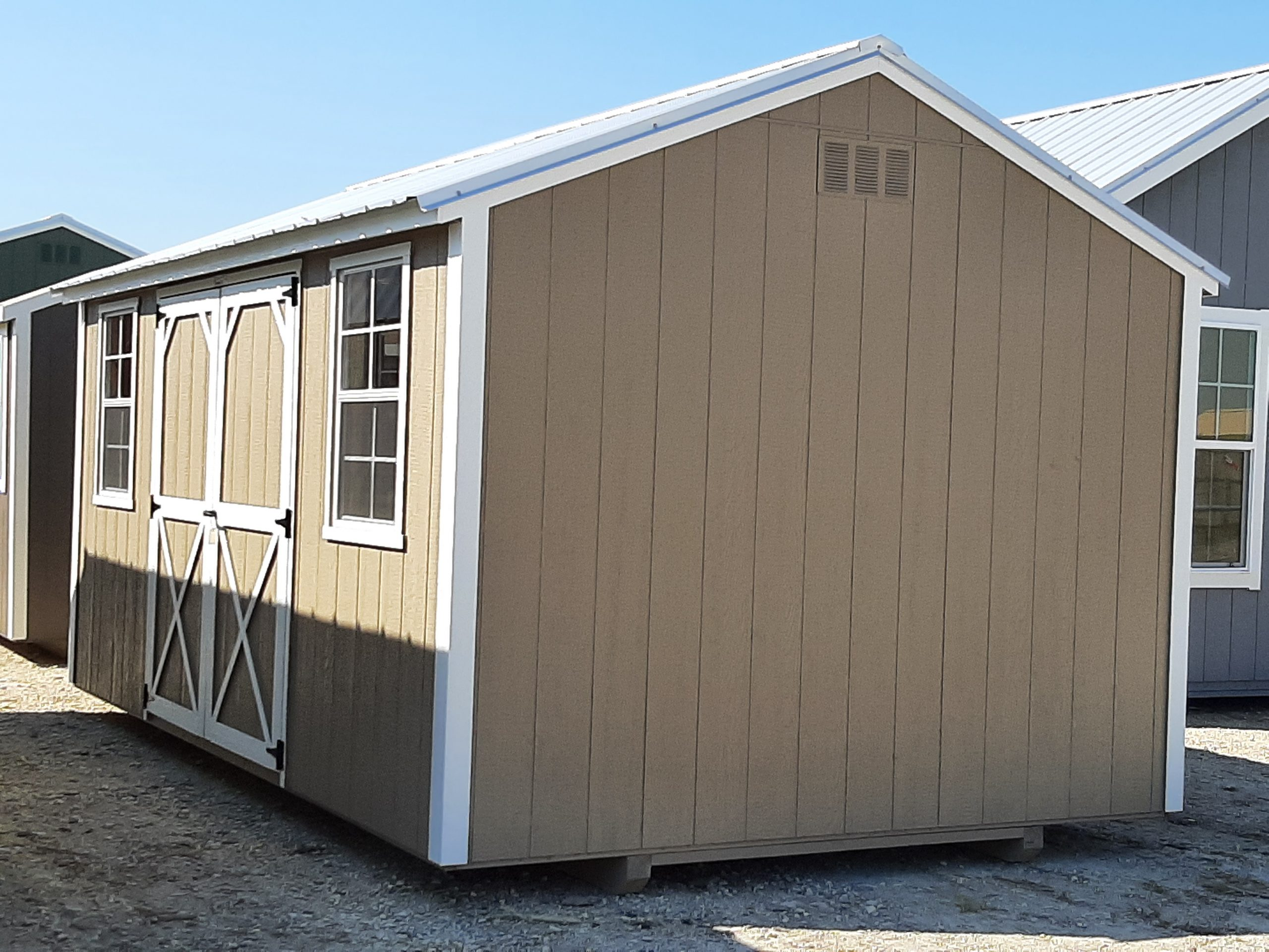 10x16 Garden Shed #2161 Image