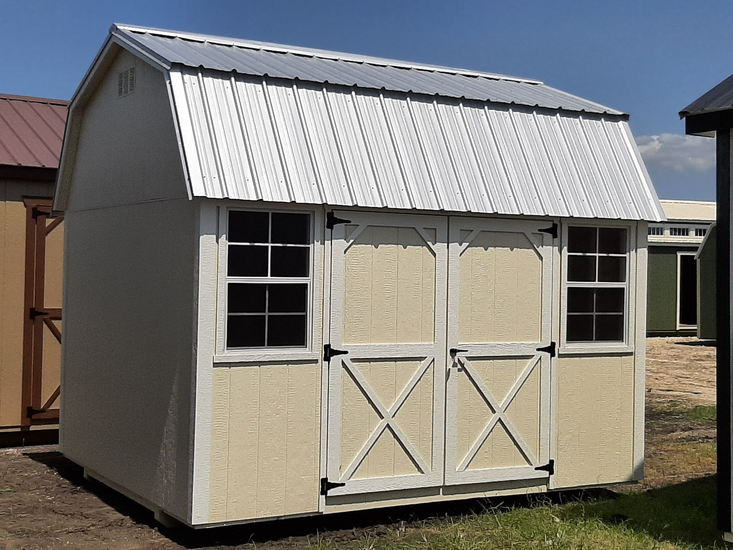 10x12 Elite Lofted Barn #2208 Image