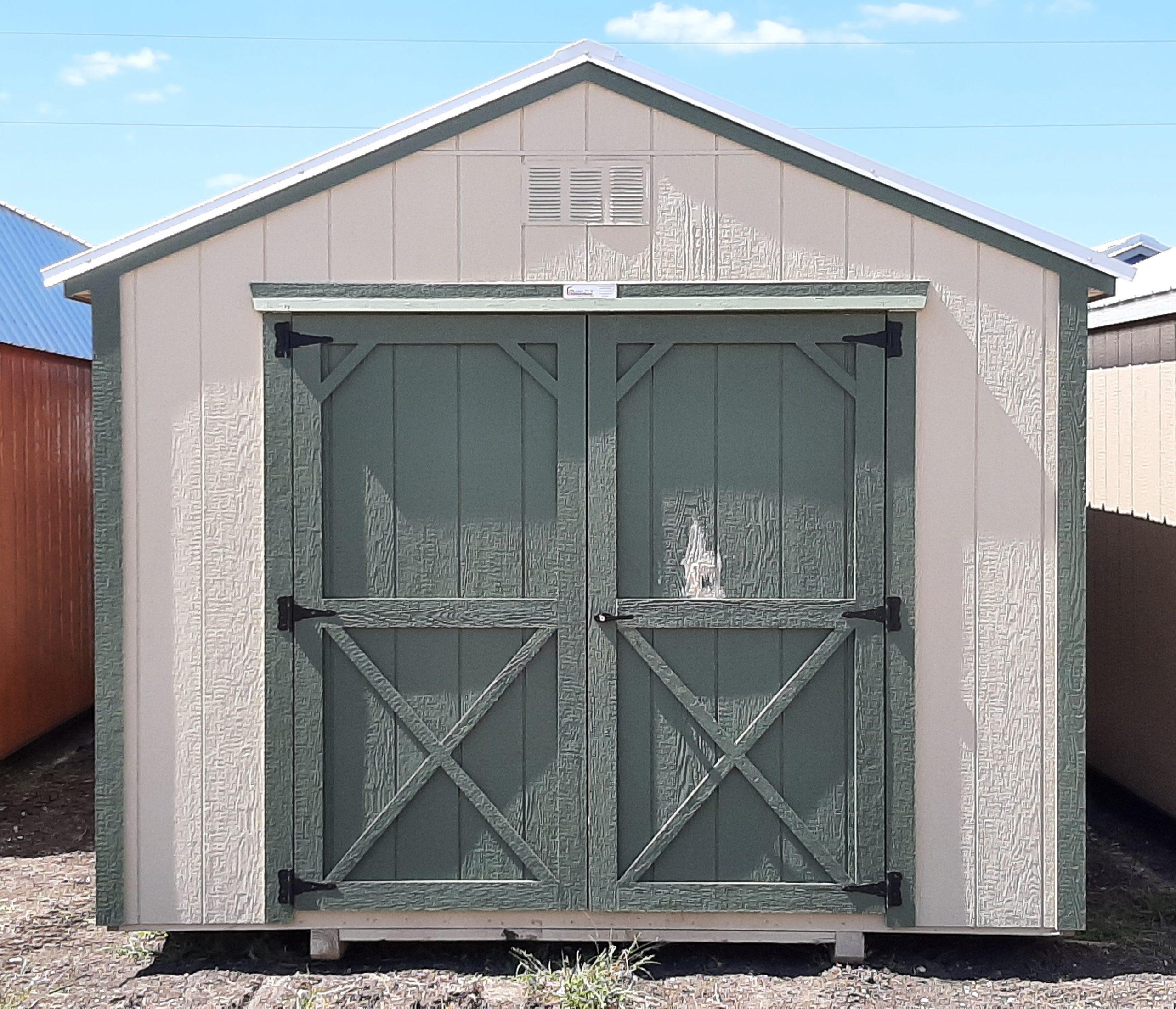 10x16 Utility Shed #1887 Image