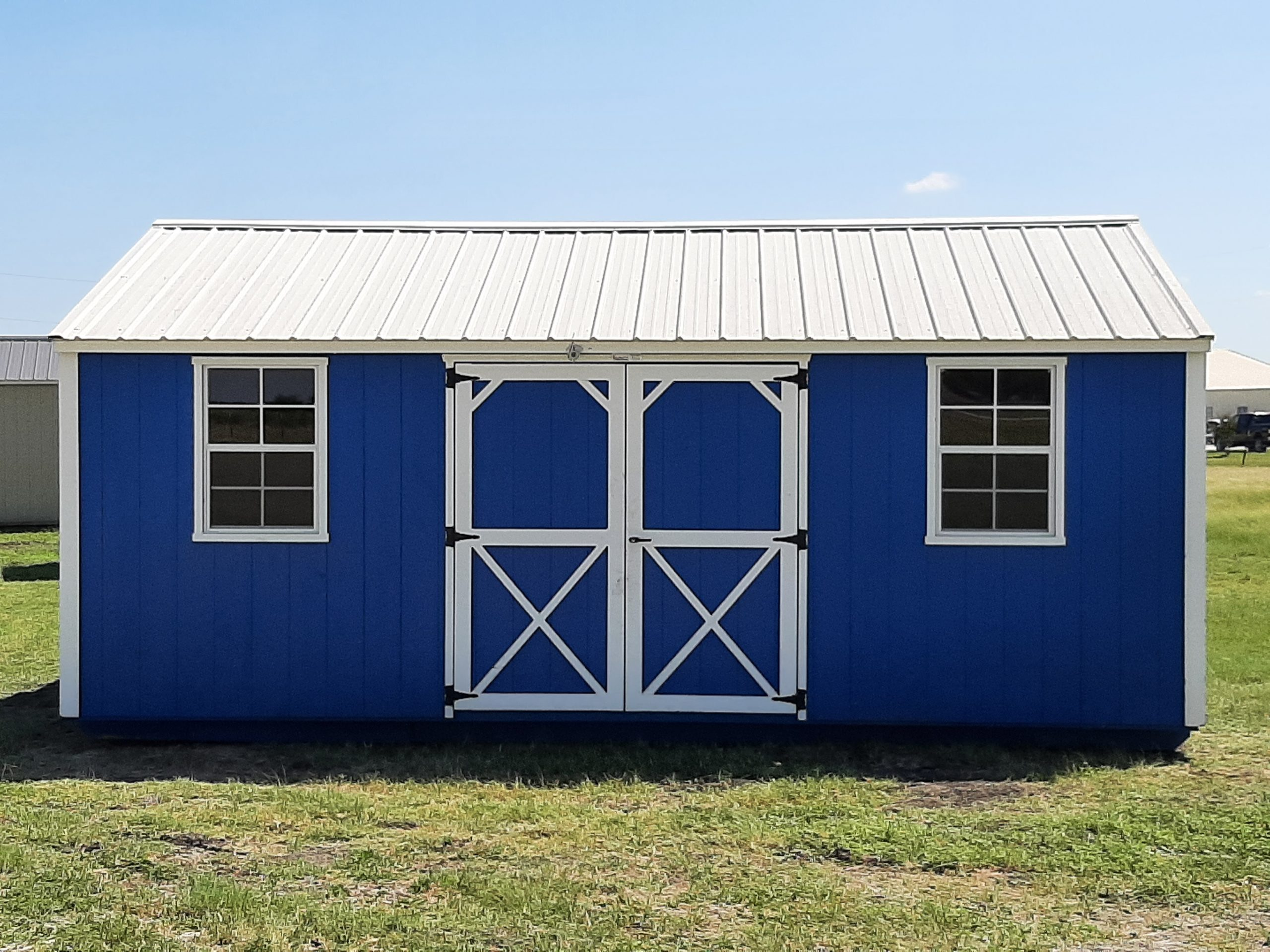 12x20 Garden Shed #1579 Image
