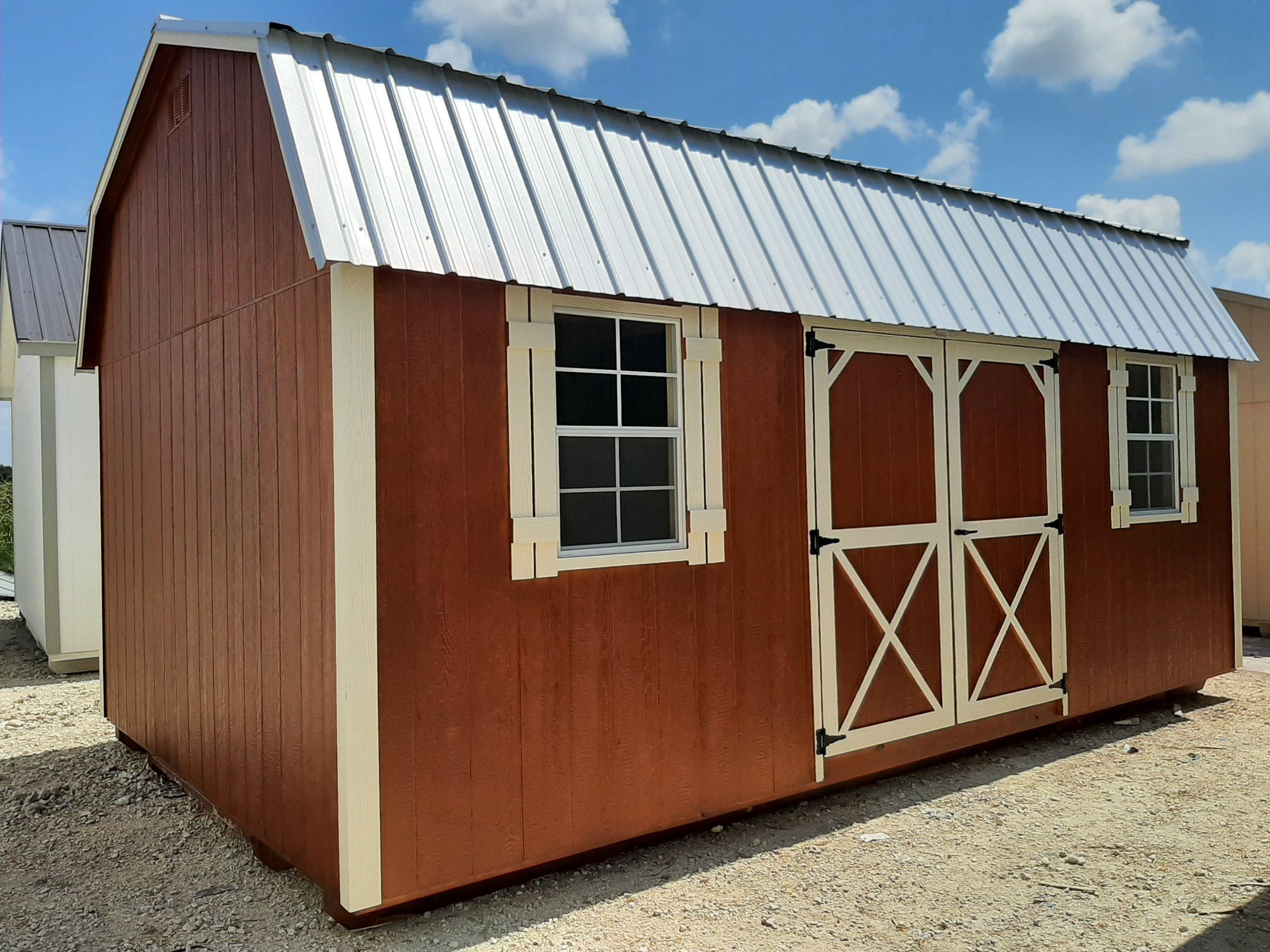 12x20 Elite Lofted Barn #2261 Image