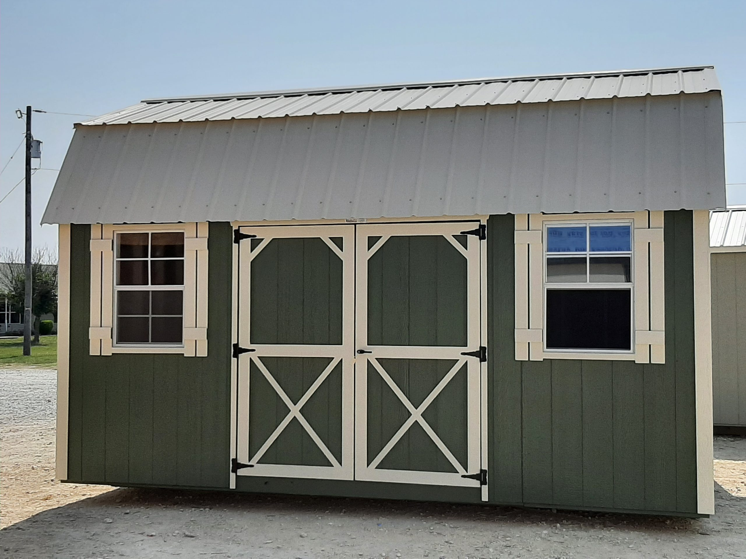 10x16 Elite Lofted Barn #2356 Image