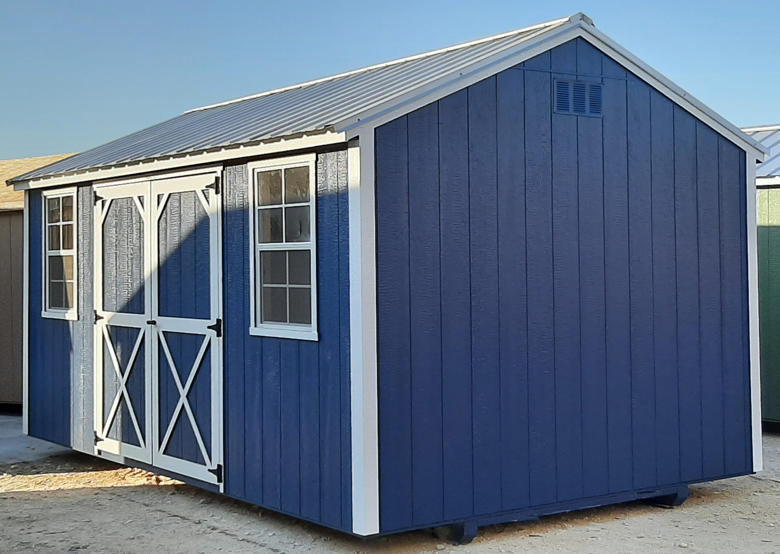 10x16 Garden Shed #2344 Image