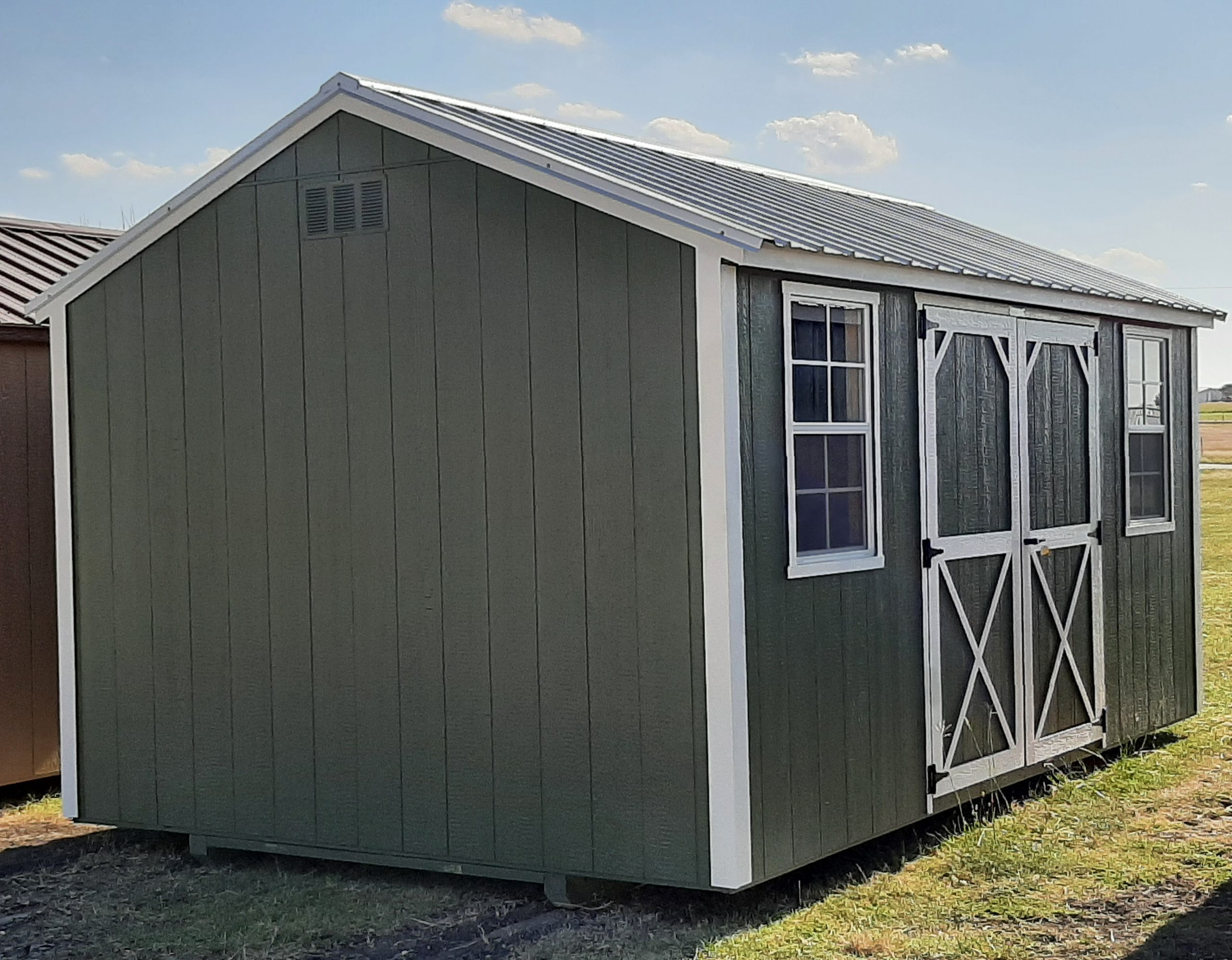 10x16 Garden Shed #2298 Image
