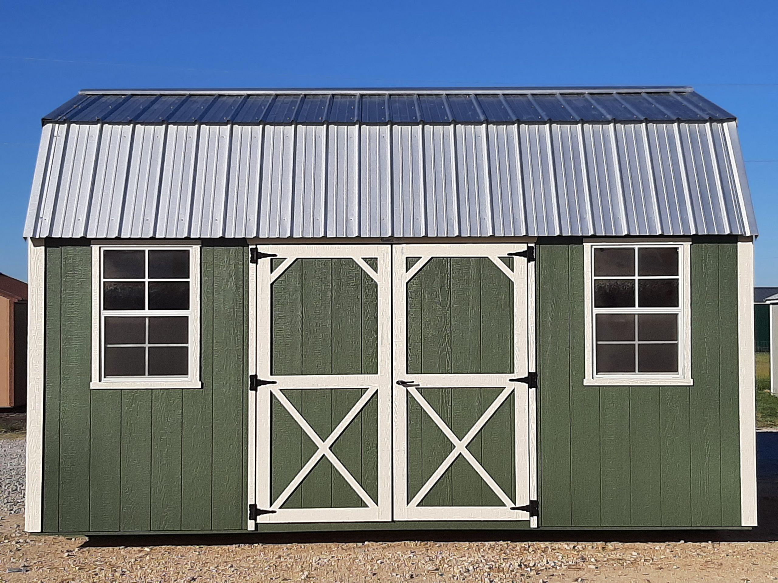 10x16 Lofted Barn #2409 Image
