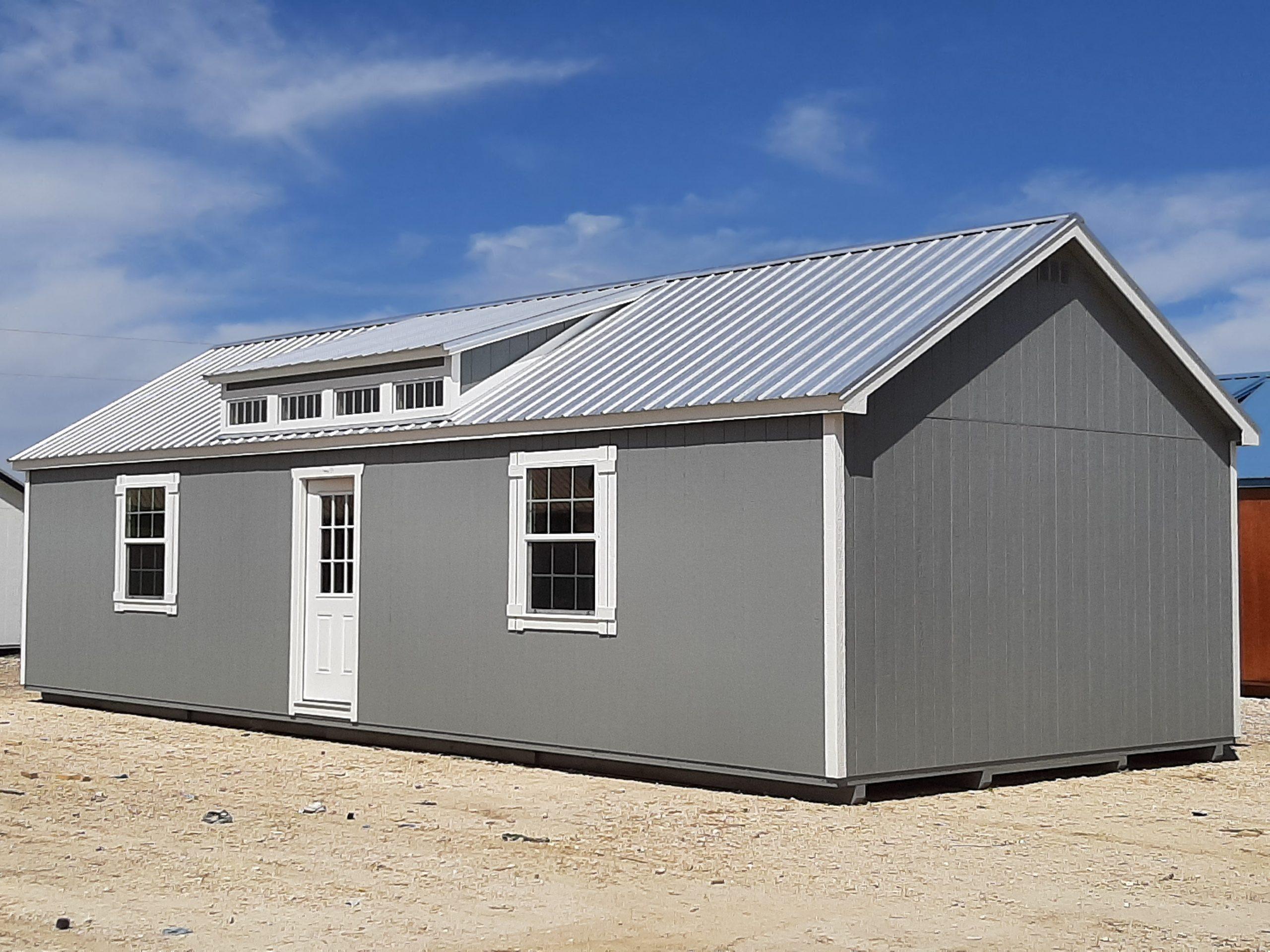 16x40 Dormer Cabin #2410 Image