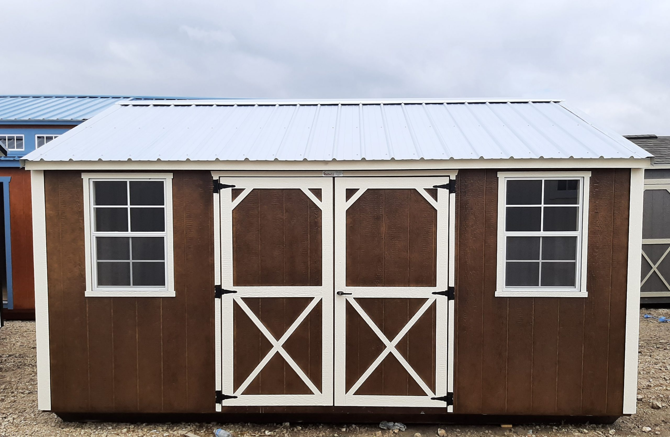 12x16 Garden Shed #2422 Image