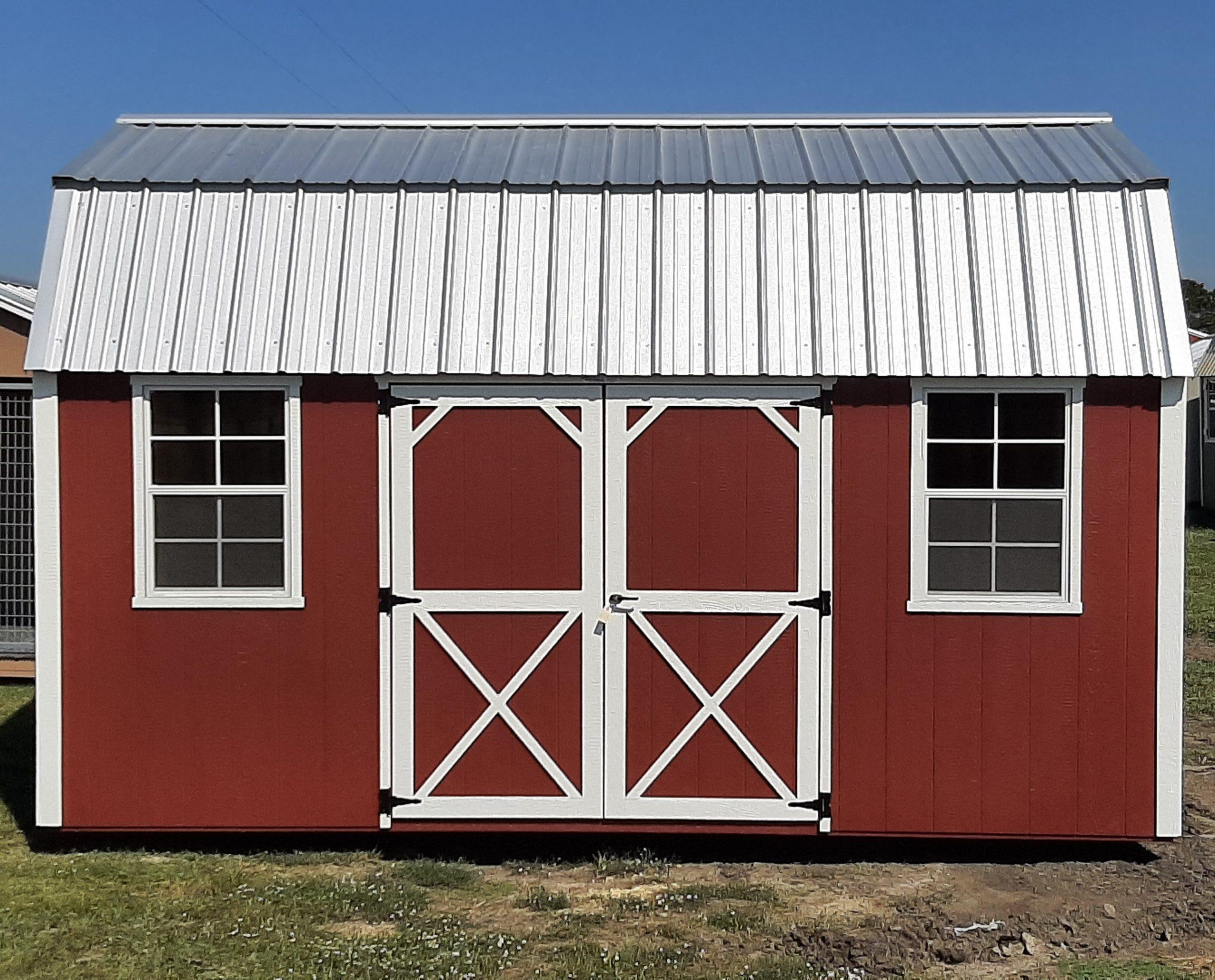 10x16 Lofted Barn #2423 Image